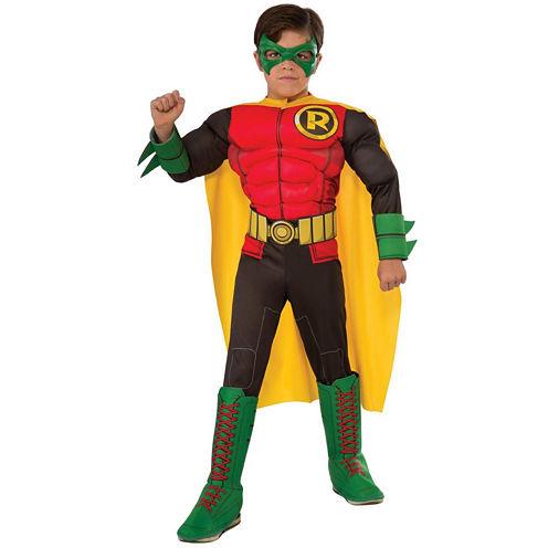 Deluxe Robin Costume For Kids