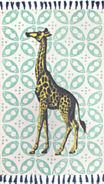 nuLoom Flat Woven Thomas Paul Collection Giraffe Contemporary Rug