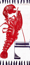 nuLoom Flat Woven Thomas Paul Collection Lobster Coastal Rug