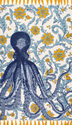 nuLoom Thomas Paul Flatweave Cotton Octopus Rug