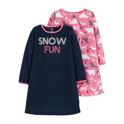 c556a5a78 Carters Short Sleeve Nightgown Toddler Girls JCPenney