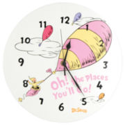 Trend Lab® Dr. Seuss™ Pink Oh, the Places You'll Go Clock