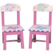 Guidecraft Butterfly Set of 2 Chairs
