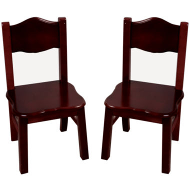 jcpenney.com | Guidecraft Classic Espresso Set of 2 Chairs