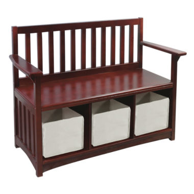 jcpenney.com | Guidecraft Classic Espresso Storage Bench with Bins