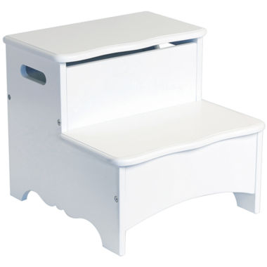 jcpenney.com | Guidecraft Classic White Storage Step-up