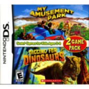 Nintendo® DS, My Amusement Park & Digging for Dinosaurs Game Pack
