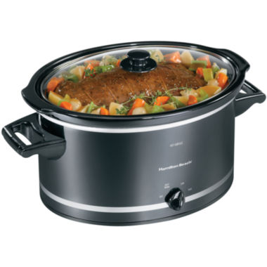 jcpenney.com | Hamilton Beach® 8-qt. Oval Slow Cooker + Lid Rest