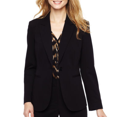 jcpenney.com | Liz Claiborne® 1-Button Jacket
