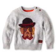 Baker by Ted Baker Dapper Dog Sweater - Boys newborn-24m