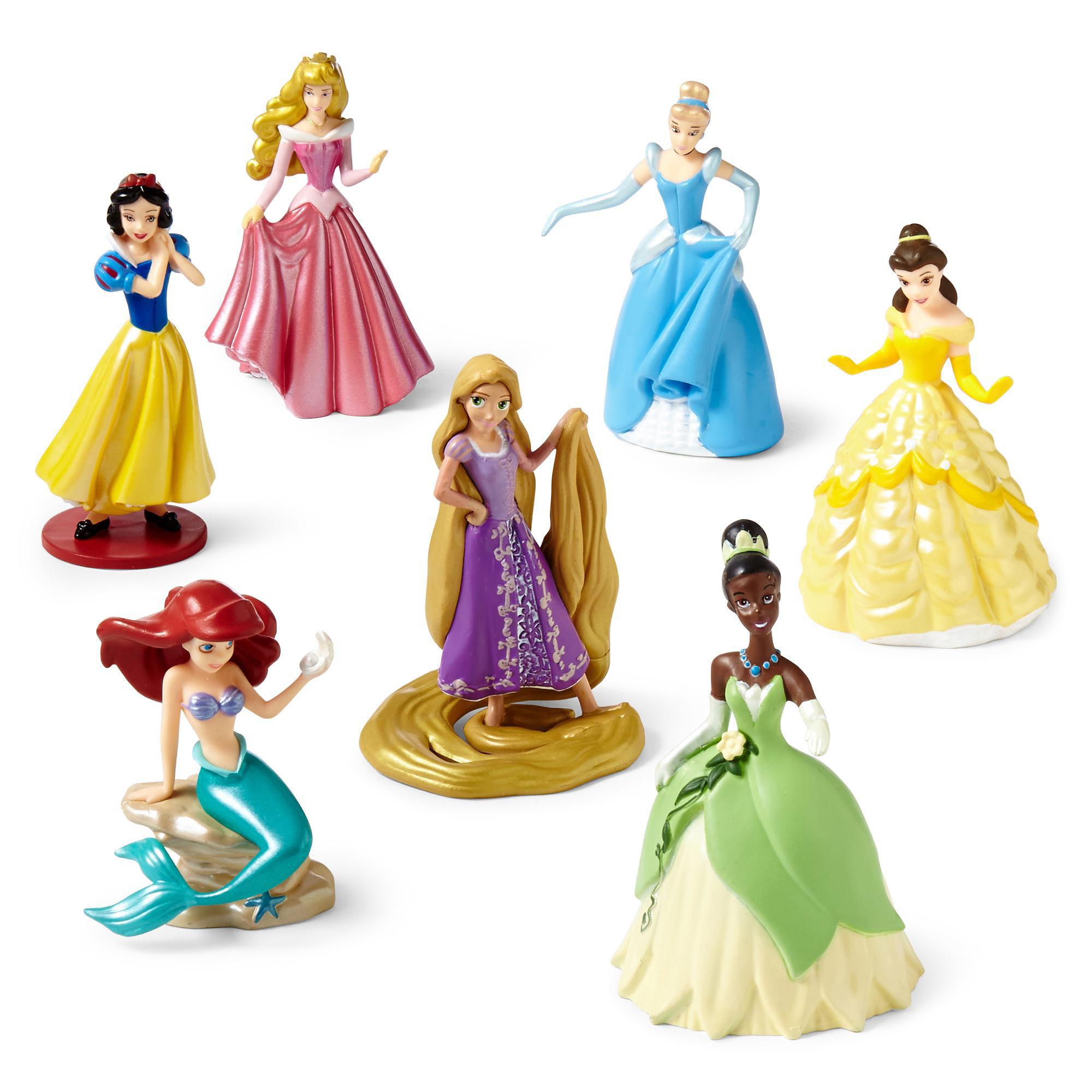 Фигурка принцессы для торта