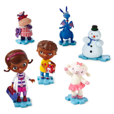 jcpenney.com | Disney Collection Doc McStuffins 6-pc. Figure Set