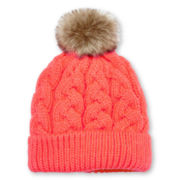 Toby Cable Knit Hat - Girls