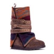 MUK LUKS® Nikki Belted Womens Boots