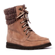 MUK LUKS® Polly Womens Lace-Up Boots