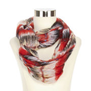 Vertical Brushstrokes Loop Scarf