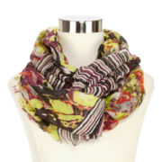 Striped Infinity Neck Scarf