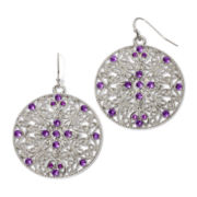 Arizona Round Filigree Earrings