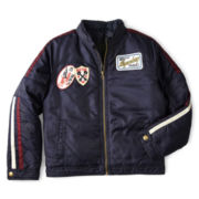 Arizona Nylon Zip-Front Moto Jacket – Boys 6-18