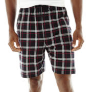 Stafford® Knit Pajama Shorts–Big & Tall