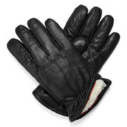 Dockers® Sherpa-Lined Leather Gloves