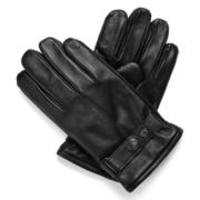 Dockers® Snap-Tab Leather Gloves