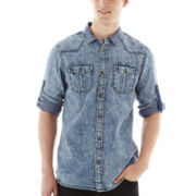i jeans by Buffalo Mobidic Button-Front Shirt