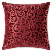 JCPenney Home™ Velvet Scroll Pillow