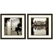 PTM Images™ Set of 2 Garden Gate Wall Art