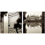PTM Images™ Set of 2 Garden Gate Canvas Wall Art