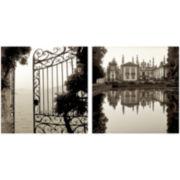 PTM Images™ Set of 2 Garden Gate Canvas Wall Art