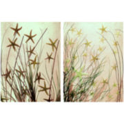 PTM Images™ Set of 2 Under the Sea Canvas Wall Art