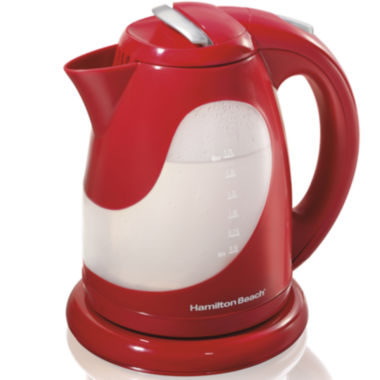 jcpenney.com | Hamilton Beach® 1.7-Liter Red Electric Kettle