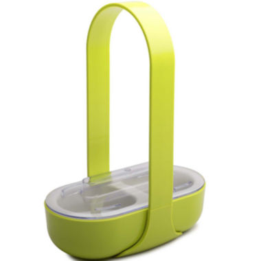 jcpenney.com | Zak Designs® 2-Section Serving Caddy with Handle & Lid
