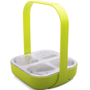jcpenney.com | Zak Designs® 4-Section Serving Caddy with Handle & Lid
