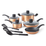 CLOSEOUT! Cooks 12-pc. Color Expressions Cookware Set