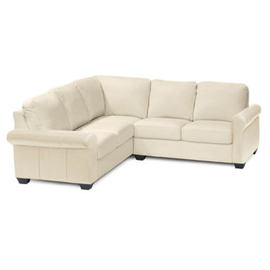 jcpenney.com | Leather Possibilities Roll-Arm 2-pc. Left-Arm Corner Sectional