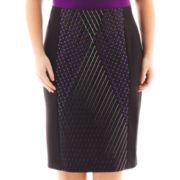 Worthington® Print Scuba Skirt
