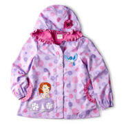 Disney Princess Sofia Hooded Jacket – Girls 2-10