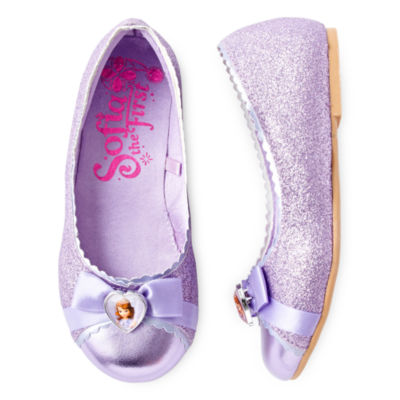 Disney Collection Sofia Flat Costume Shoes - Girls