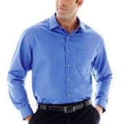 Van Heusen® Long-Sleeve No-Iron Solid Sateen Shirt–Big & Tall