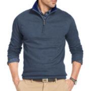 Van Heusen® Long-Sleeve Quarter-Zip Pullover
