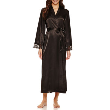 jcpenney.com | Ambrielle Long Sleeve Satin Robe