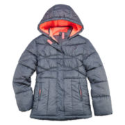 Xersion Girls Midweight Puffer Jacket-Big Kid