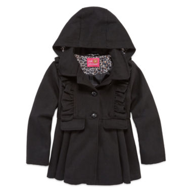 jcpenney.com | Pink Platinum Girls Midweight Peacoat-Big Kid