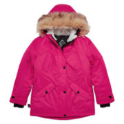 Zero Xposure Girls Heavyweight Parka-Big Kid 7-20
