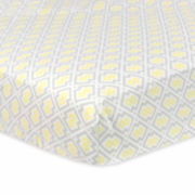 Just Born Multicolored Fitted Cotton Crib Sheet