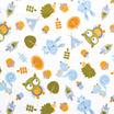 Trend Lab Animal Tepee Jumbo Flannel  Swaddle Blanket