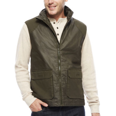 jcpenney.com | St. John's Bay® Flannel-Lined Canvas Vest