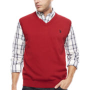 U.S. Polo Assn.® Fine Guage Sweater Vest
